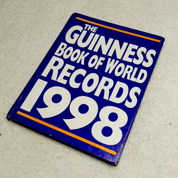 Guiness Book Of World Records 1998 Hardcover